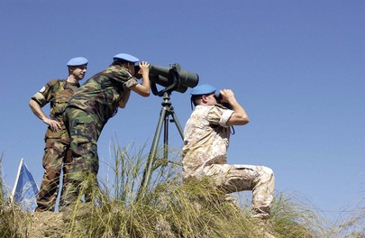UN Peacekeepers Observe Line of Control Between India and Pakistan