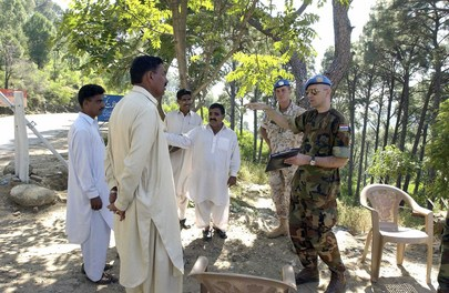 United Nations Military Observer Group on India-Pakistan Border