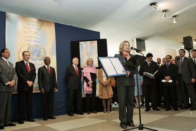 United Nations Celebrates 60th Anniversary