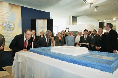 United Nations Celebrates 60th Anniversary