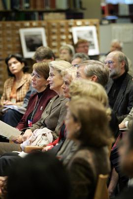 Nane Annan At Lecture on Dag Hammarskjöld's Life