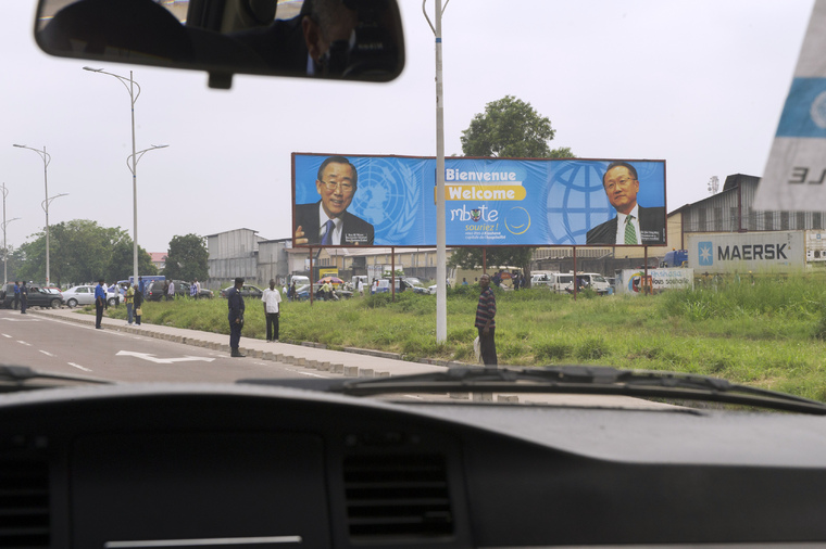 Heads of UN and World Bank Arrive in Kinshasa on Joint Visit
