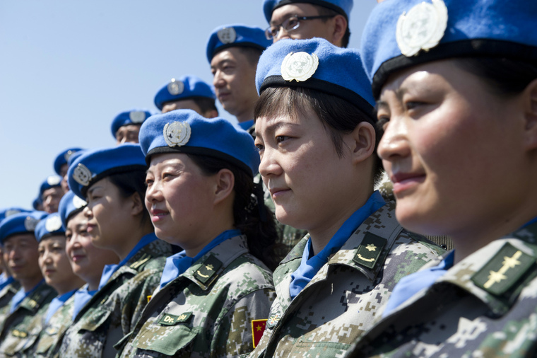 Secretary-General Visits Peacekeeping Military Training Centre in Beijing