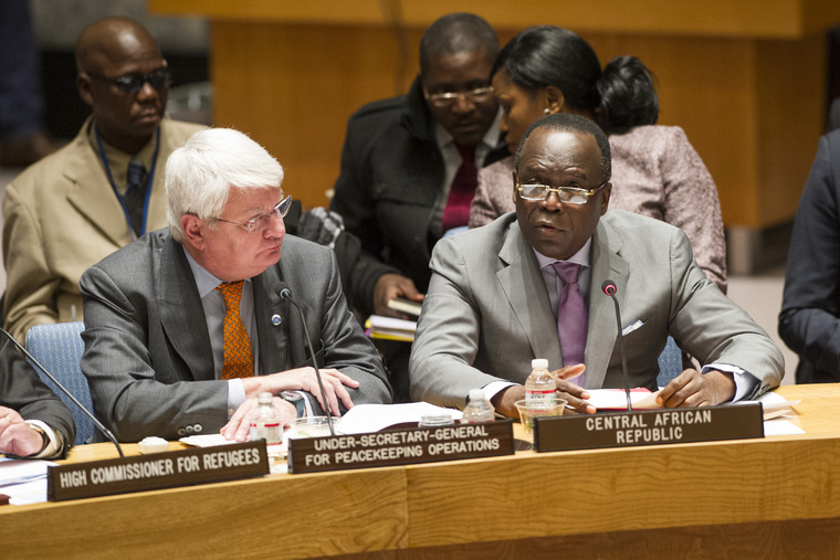 Council Discusses Situation in Central African Republic