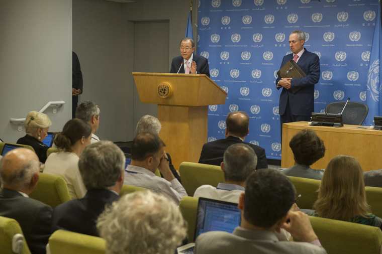 Press Conference by Secretary-General on Situation in the Middle East