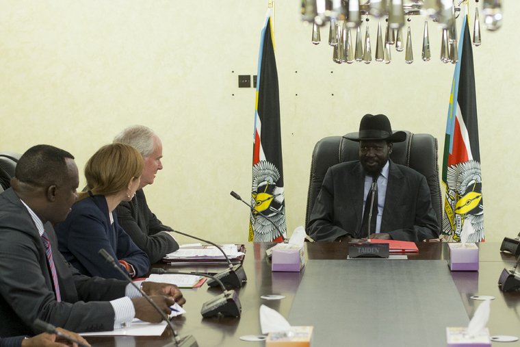 Security Council Delegation Visits South Sudan
