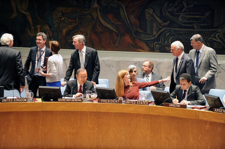 Security Council Discusses Ebola Outbreak in West Africa