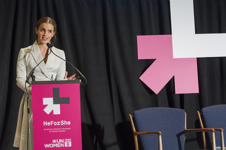UN Women Goodwill Ambassador Emma Watson Co-Hosts Special HeForShe Event
