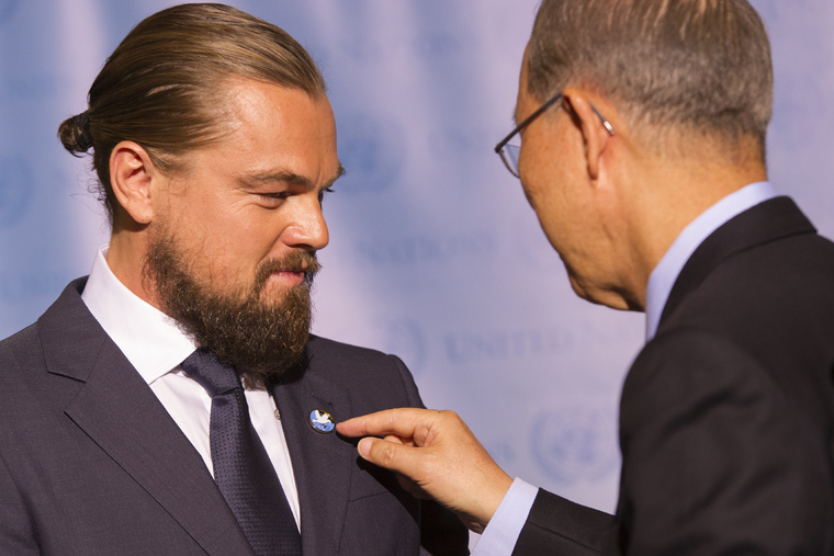 Secretary-General Designates Leonardo Dicaprio as UN Messenger of Peace