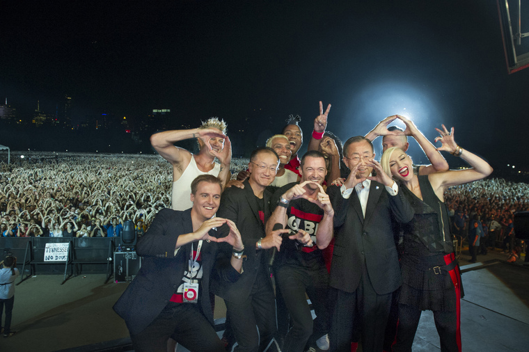 Secretary-General Attends Global Citizen Festival 2014