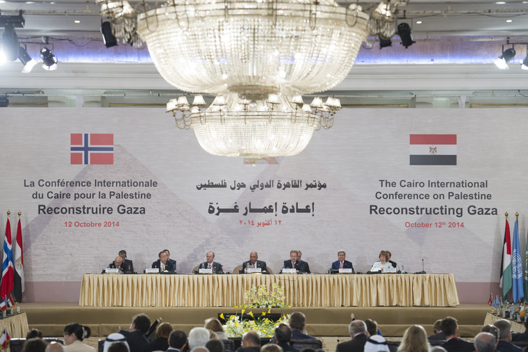 Secretary-General Addresses Cairo Conference on Palestine