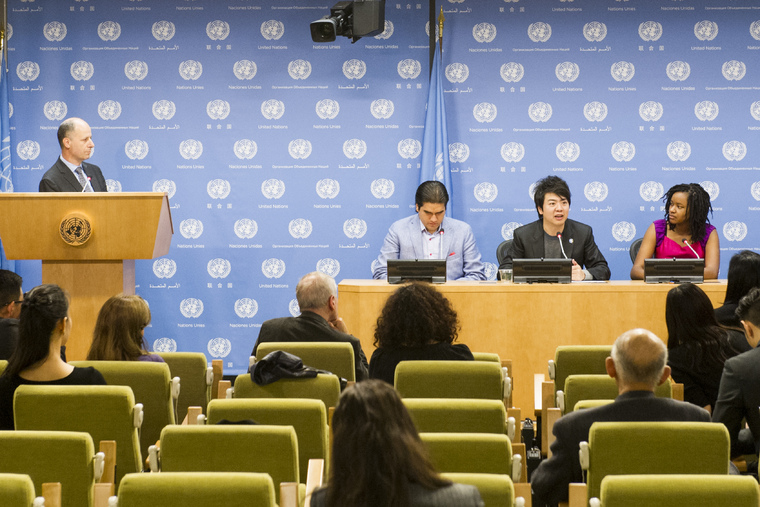Press Conference Ahead of Special Event Celebrating United Nations Day 2014