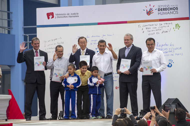Launch of Peruvian National Plan on Human Rights Education
