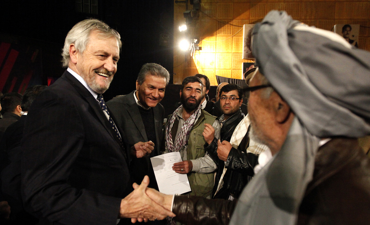 Afghan Audiences Debate UN's Role in Country with UNAMA Head