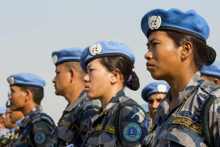 Last Salute and Wreath-laying Ceremony for Nepalese Peacekeeper of UNMISS