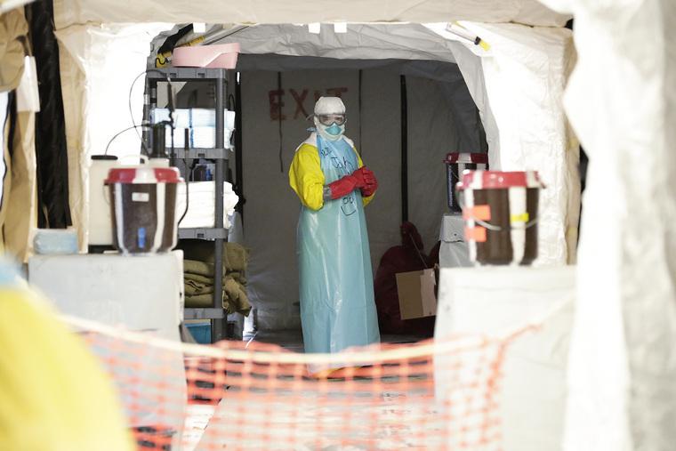 Ebola Treatment Facility in Liberia