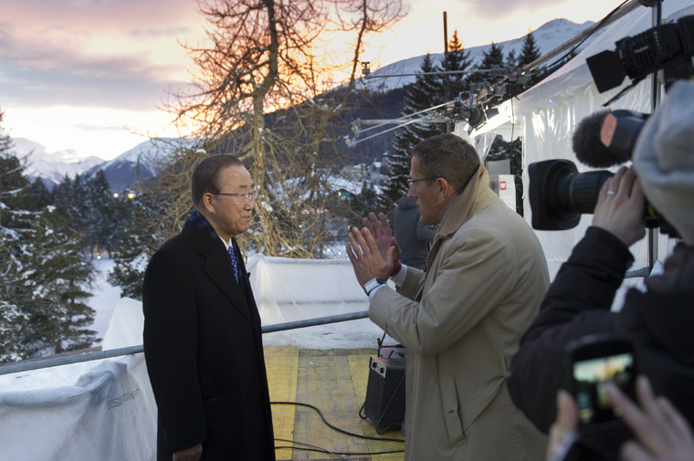 Secretary-General Interviewed by CNN