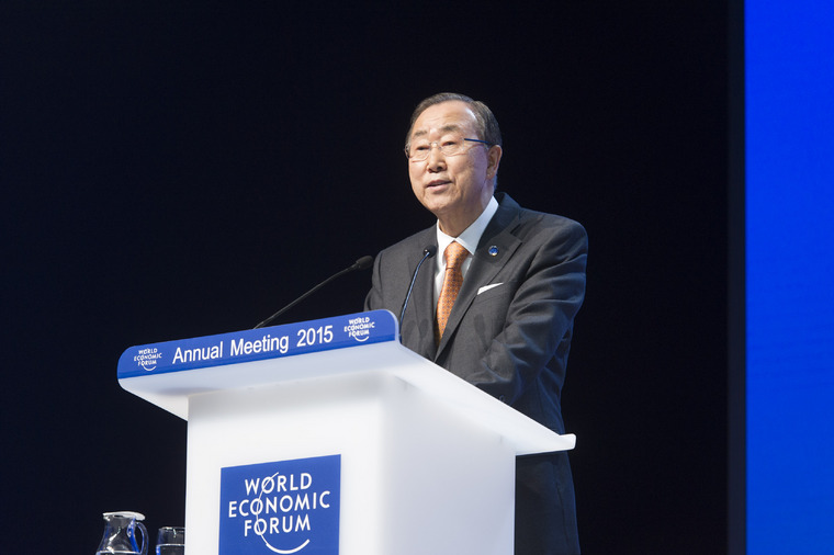 Secretary-General Addresses 2015 World Economic Forum