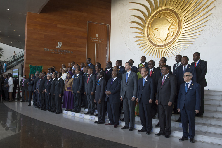 Group Photo of Participants of 24th African Union Summit