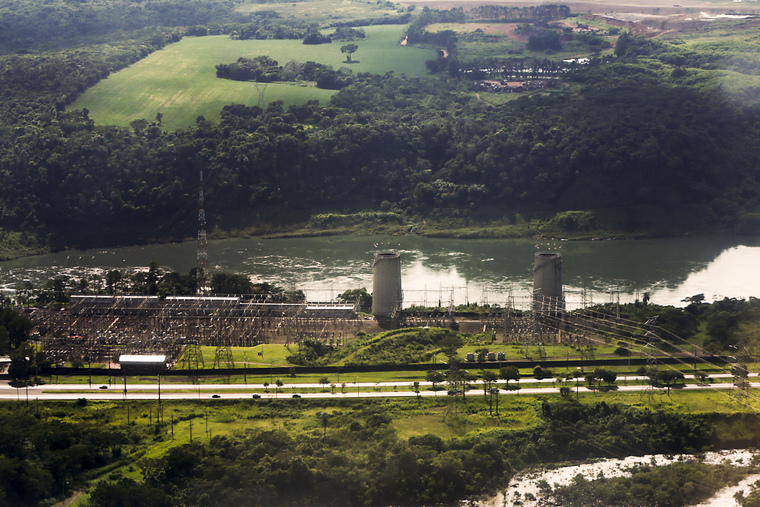 Itaipu Hydroelectric Power Plant, Paraguay