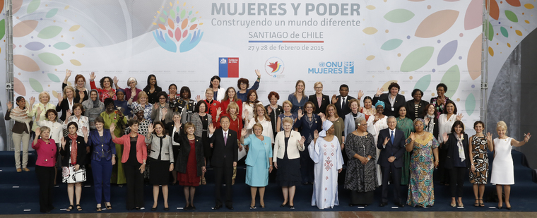 Group Photo of Participants of High-level Event on Women in Power, Santiago