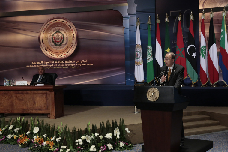 Secretary-General Attends Summit of League of Arab States