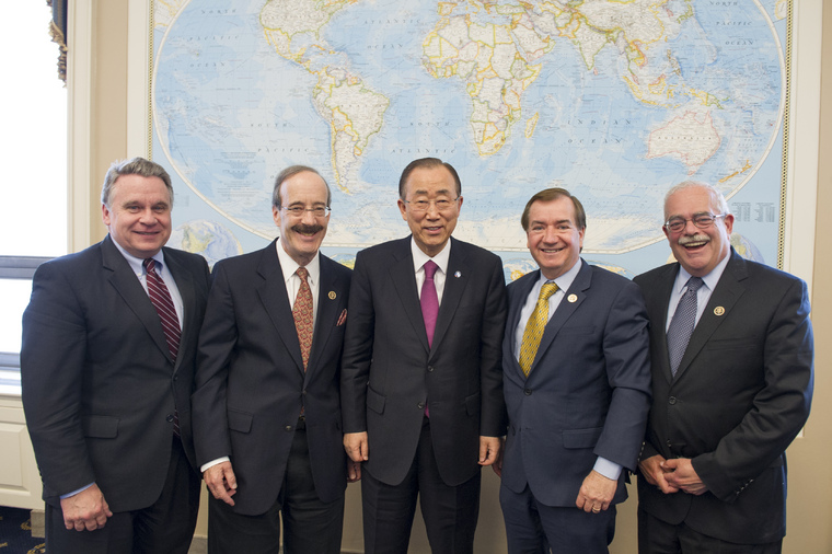 Secretary-General Meets Members of US House Foreign Affairs Committee