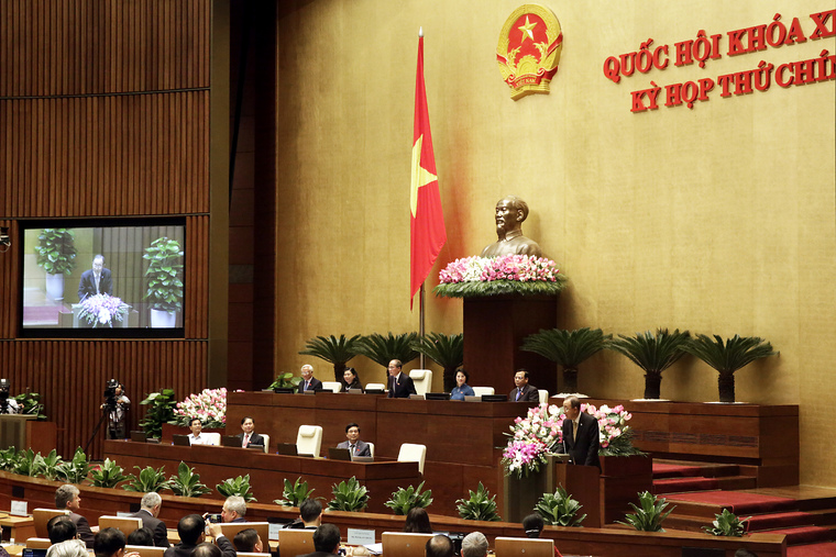 Secretary-General Addresses National Assembly of Viet Nam