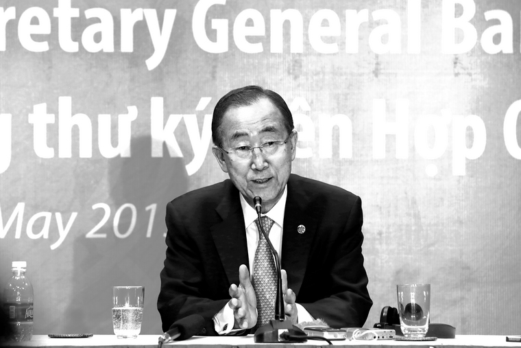 Secretary-General Briefs Media in Viet Nam