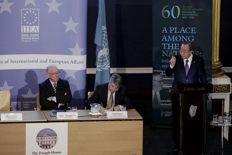 Secretary-General Addresses Iveagh Lecture in Ireland