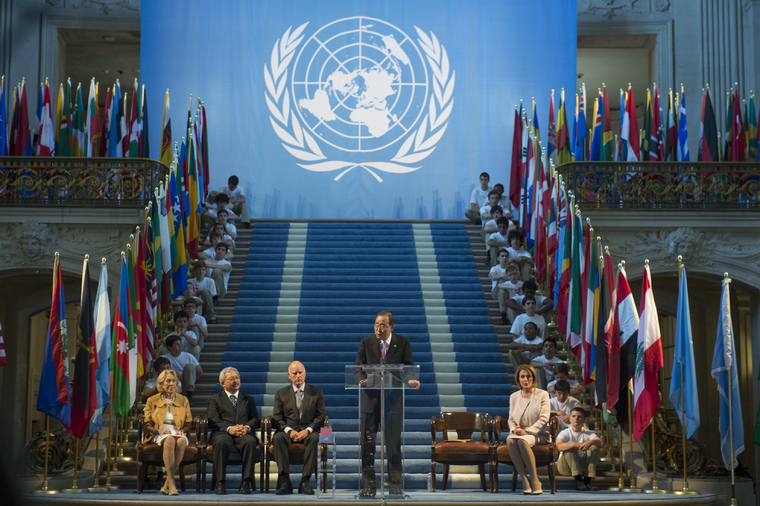 UN Charter Commemoration Ceremony in San Francisco