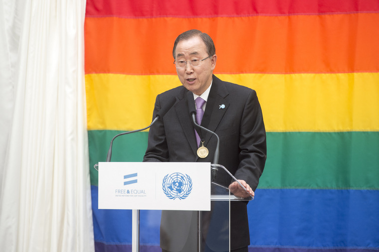Secretary-General Speaks at UN Free & Equal Lunch in San Francisco