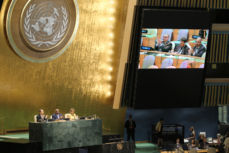 Assembly Transmits 2030 Agenda for Sustainable Development to Summit