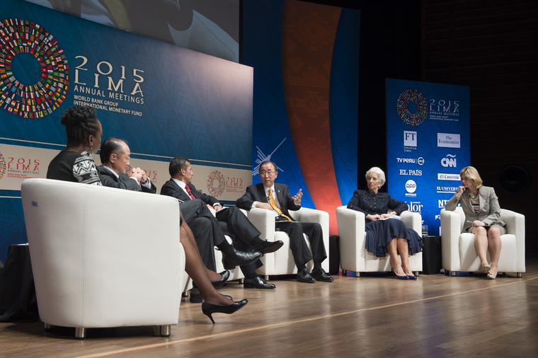 Secretary-General Speaks at Interactive Panel Discussion in Peru