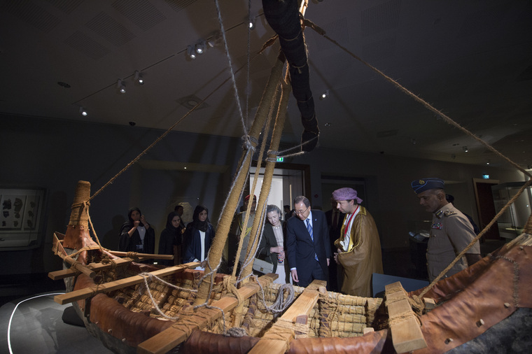 Secretary-General Visits National Museum of Oman