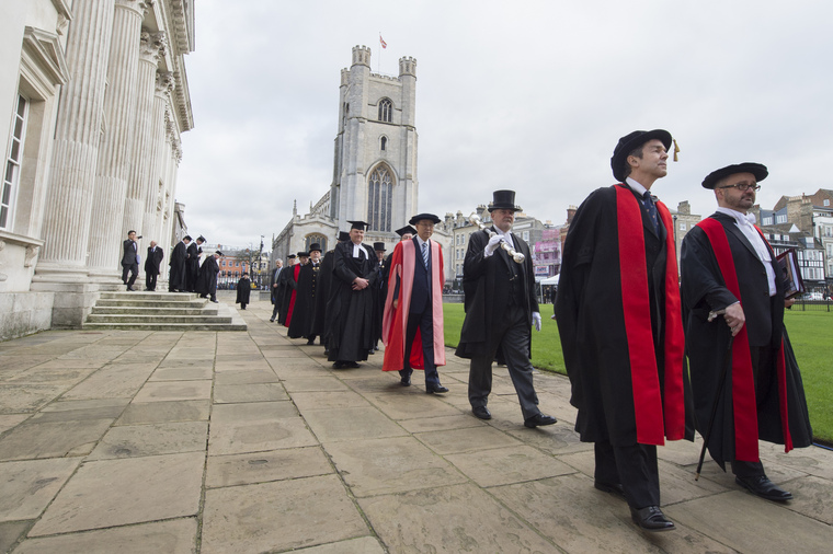 Secretary-General Receives Honorary Degree from Cambridge University