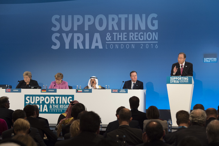 Secretary-General Addresses Syria Donors Conference in London