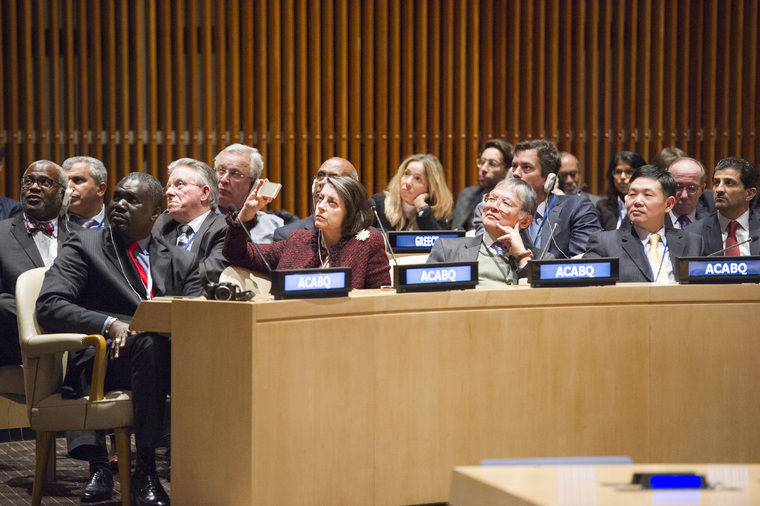General Assembly Marks 70th Anniversary of ACABQ