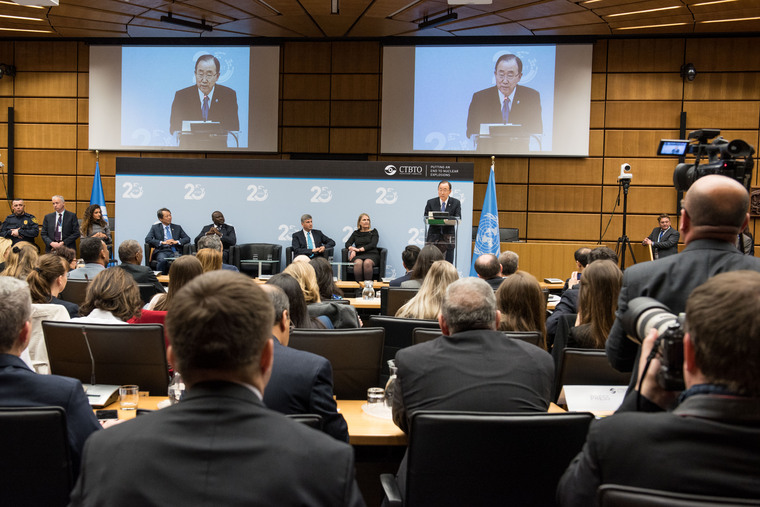Secretary-General Speaks at Panel Marking 20th Anniversary of CTBTO