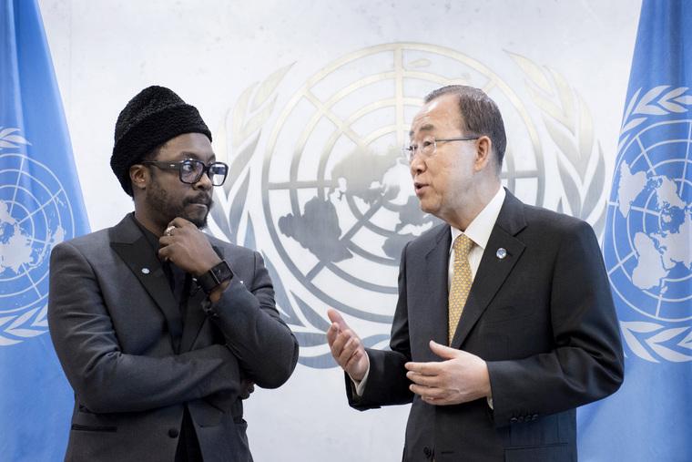 Secretary-General Meets will.i.am