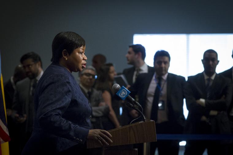 ICC Prosecutor Briefs Press on Libya