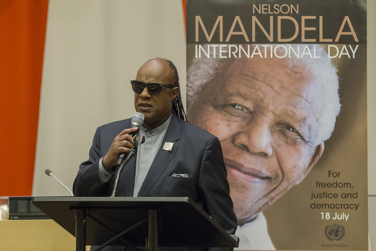 UN Marks Nelson Mandela International Day