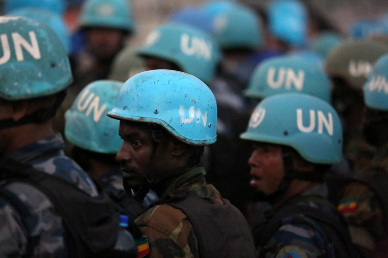 UNMISS Conducts Weapons Sweep at UN Protection Site near Juba