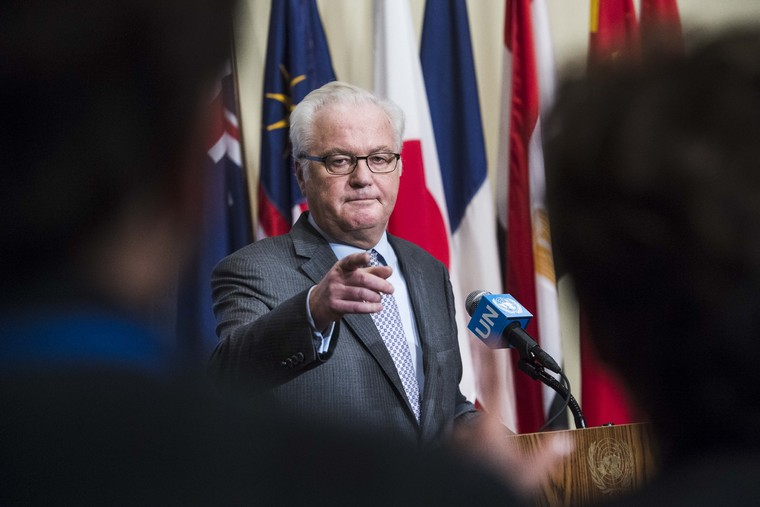 President of Security Council Briefs Journalists