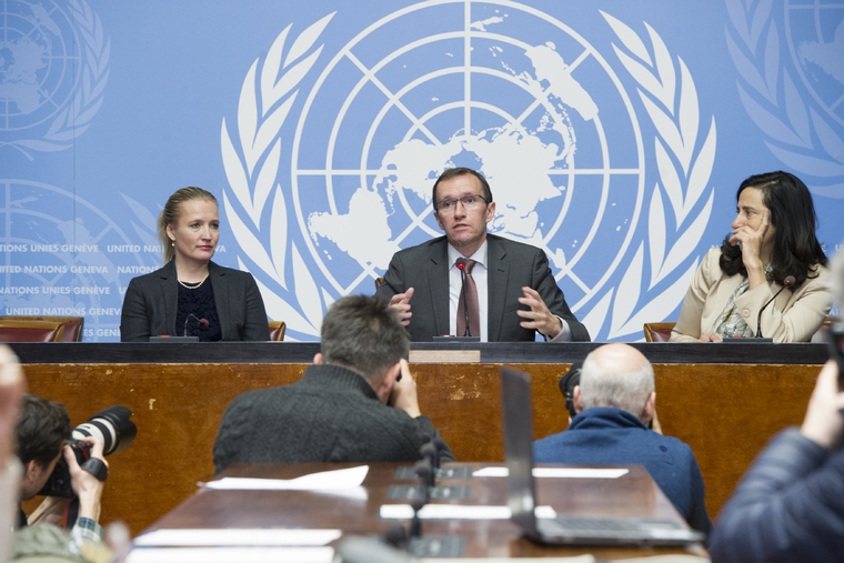 UN Special Adviser on Cyprus Briefs Press