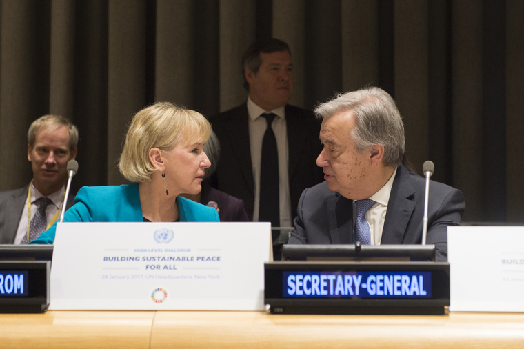 High-level Dialogue on Building Sustainable Peace for All