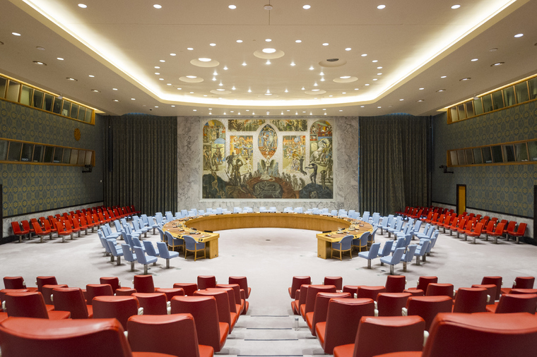 Security Council Chamber, United Nations Headquarters