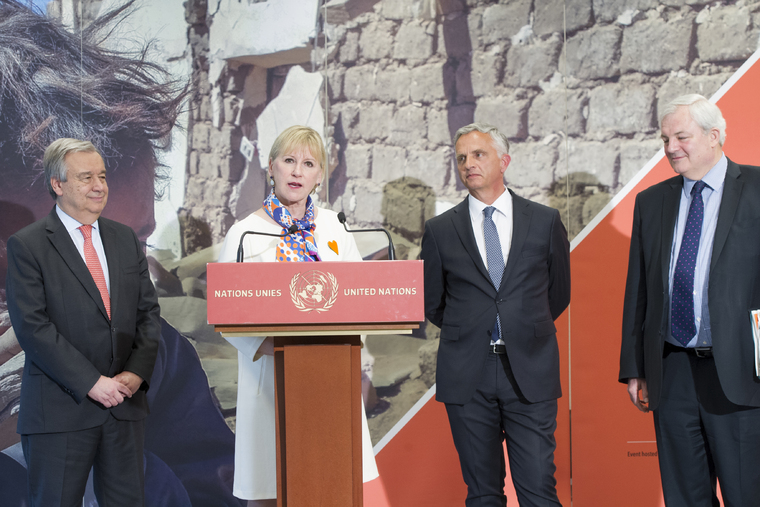 Joint Press Encounter on Pledging Conference for Yemen