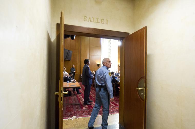 Meeting Room during Intra-Syrian Talks in Geneva