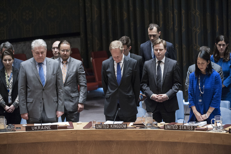 Security Council Honours Victims of Manchester Attack
